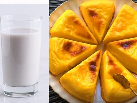 Baked Milk Pudding