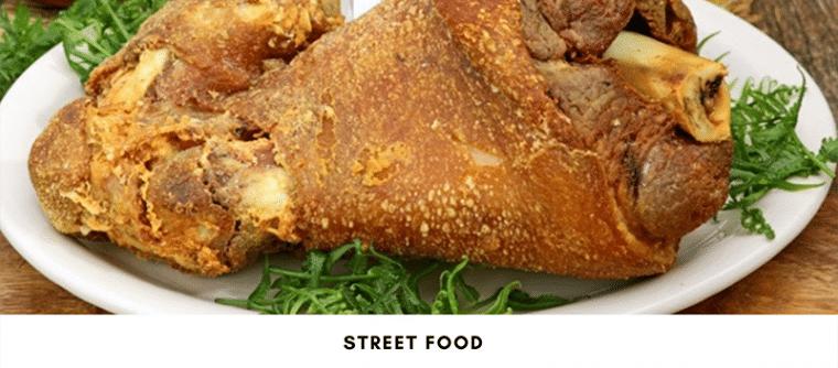 Deep fried Pork Trotter