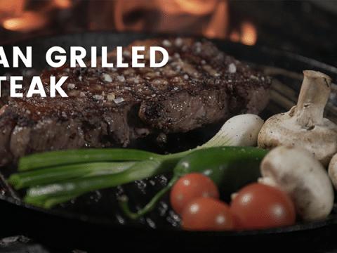 Pan Grilled Steak